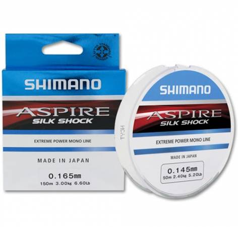 Леска Shimano Aspire Silk Shock 150м, 0.180mm
