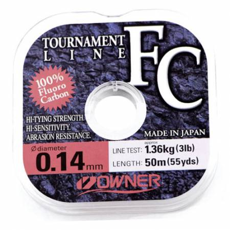 Леска Owner Fluorocarbon Tournament Line 0,20 мм